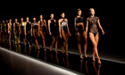 Models showing the Lenny summer collection in Rio