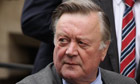 Ken Clarke arrives at the Leveson inquiry