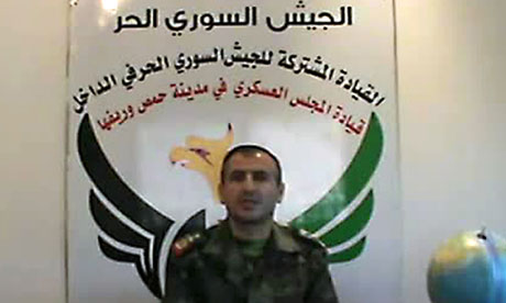 Free Syrian Army's spokesman Colonel Qassem Saadeddine issues deadline