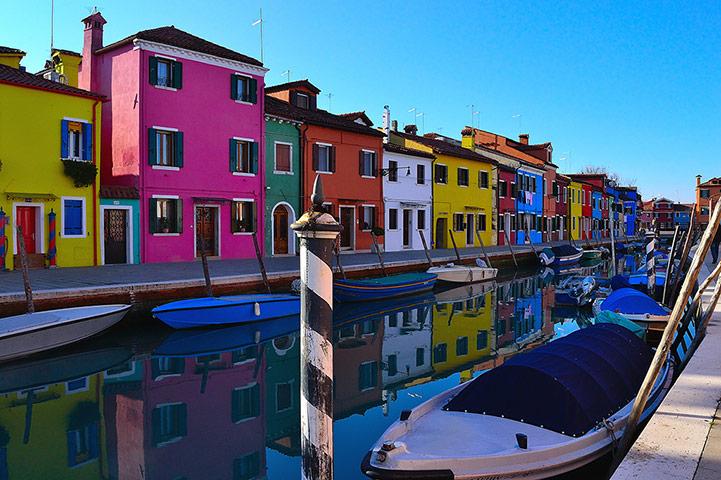 BT May: Burano in the Venetian Lagoon