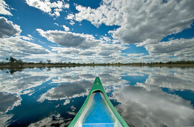 BT May: Okovango delta in Botswana