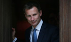 Culture Secretary Jeremy Hunt Gives Evidence To The Leveson Inquiry
