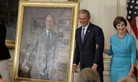 George Bush portrait