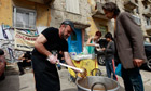 Soup kitchen in Athens, April 2012