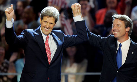 John Kerry and John Edwards, 2004