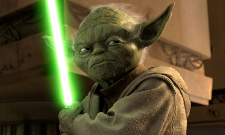 Jedi Master Yoda in a scene from Star Wars Episode III: Revenge of the Sith. Photograph: Ho/Reuters