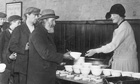 A soup kitchen in 1924