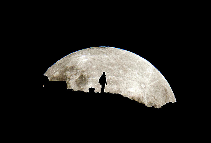 Supermoon: Supermoon, Mt Eden, Auckland, New Zealand