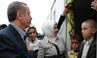Turkish PM Erdogan tells Syrian refugees: 'your victory is not far off'