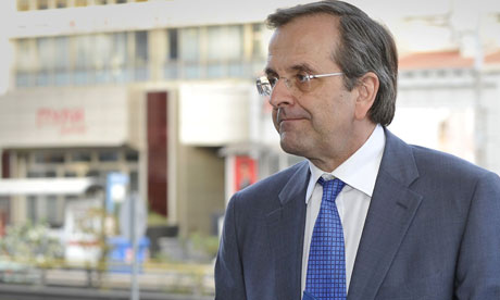 Antonis Samaras greek