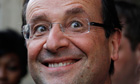 France's newly elected president Franccois Hollande