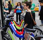 New York bike sharing Citi Bike