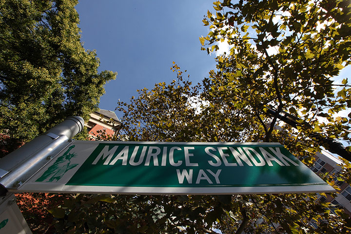 Maurice Sendak: Maurice Sendak Way in lower Manhattan, New York