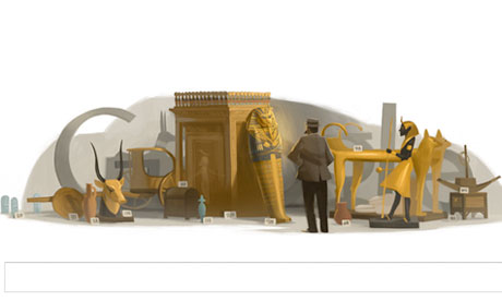 Howard Carter celebrated in a Google Doodle