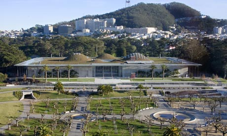 Living Roof at the California Academy of Sciences