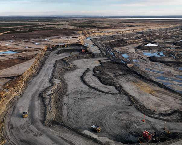 Burtynsky Oil Sands Alberta Oil Sands 8