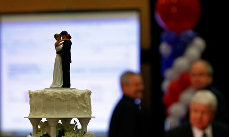 The group Vote for Marriage NC, which supported the gay marriage ban, ...