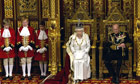 Queen gives Queen's speech