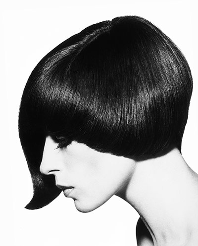 Vidal Sassoon: Lopsided asymmetric cut