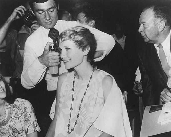 Vidal Sassoon: Mia Farrow
