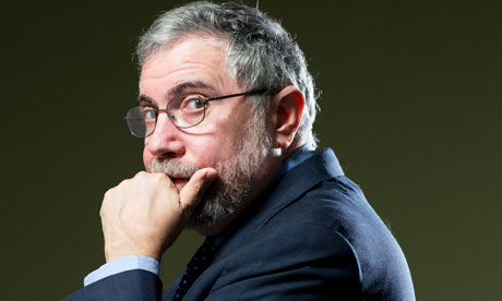 Paul Krugman: 'I'm sick of being Cassandra. I'd like to win for once'
