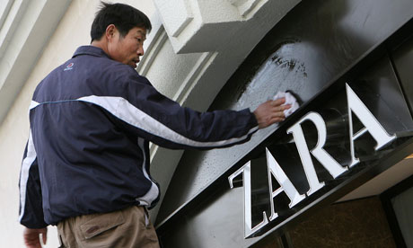 Zara becomes Spain's biggest listed company