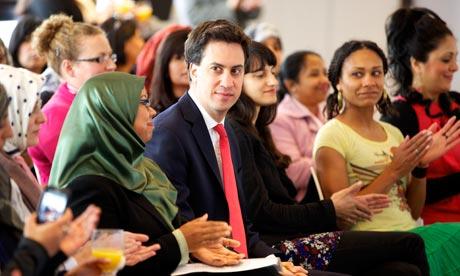 Ed Miliband in Bradford