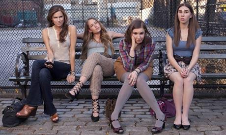 The Girls: llison Williams, Jemima Kirke, Lena Dunham and Zosia Mamet