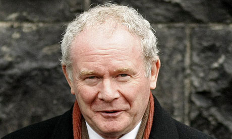 Martin McGuinness, who is to resign as MP
