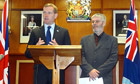 Jeremy Browne visits Falkland Islands