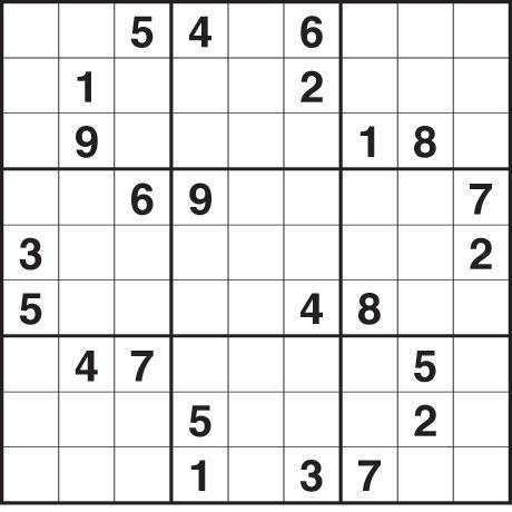 Hard Sudoku Printable Printable Sudoku Puzzles 6 Per