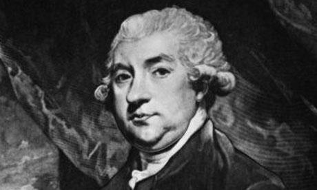 James Boswell, the biographer of writer Samuel Johnson