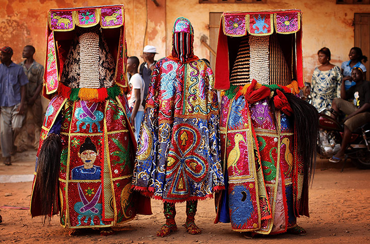 Benin voodoo festival in pictures world news the for Art culture and cuisine ancient and medieval gastronomy