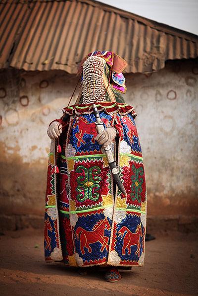 Benin: Benin w Mysterious Voodoo Religia jest obchodzony w rocznym festiwalu