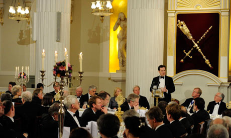 George Osborne at Mansion House