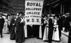 Suffragettes in 1908