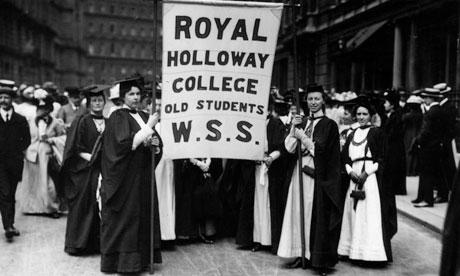 Suffragettes in 1908