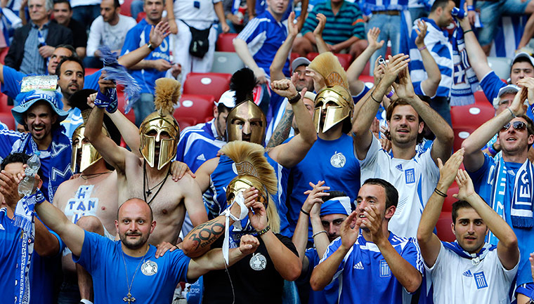 Group A: Greek fans