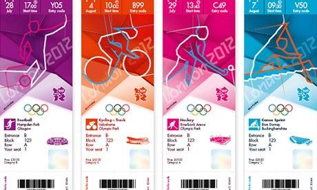 London 2012 tickets