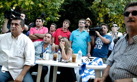 Greek elections first exit polls reactions