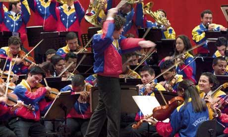 Dudamel and the Simón Bolívar Orchestra