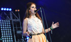 Lana Del Rey performs on day three of Lovebox Festival in London