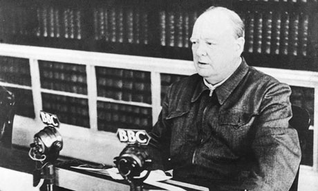 WINSTON CHURCHILL A LA BBC 1940