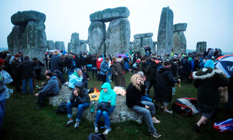 Stonehenge enjoys a moment in the sun at summer solstice | Culture ...