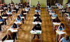 GCSE exam hall