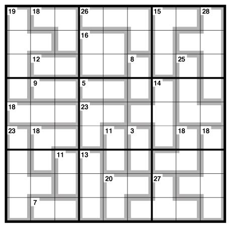Observer killer Sudoku 1 July