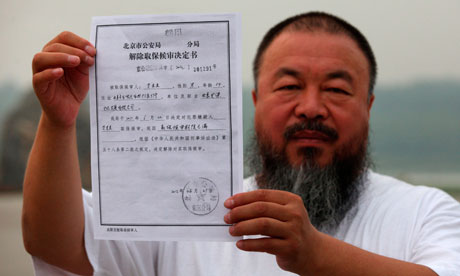 Ai Weiwei: to live your life in fear is worse than losing your freedom | Ai Weiwei