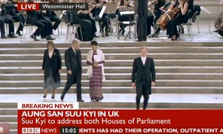 John Bercow and Aung San Suu Kyi