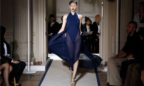 Yves Saint Laurent - Paris Fashion Week Spring/Summer 2011