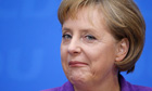 Angela Merkel, the German chancellor
